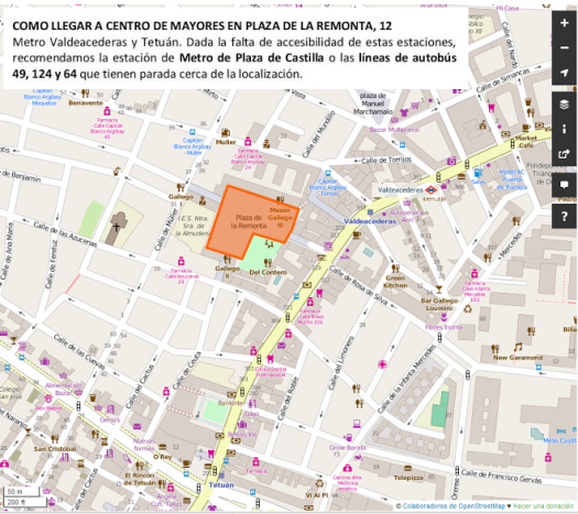 mapa mapping party remonta